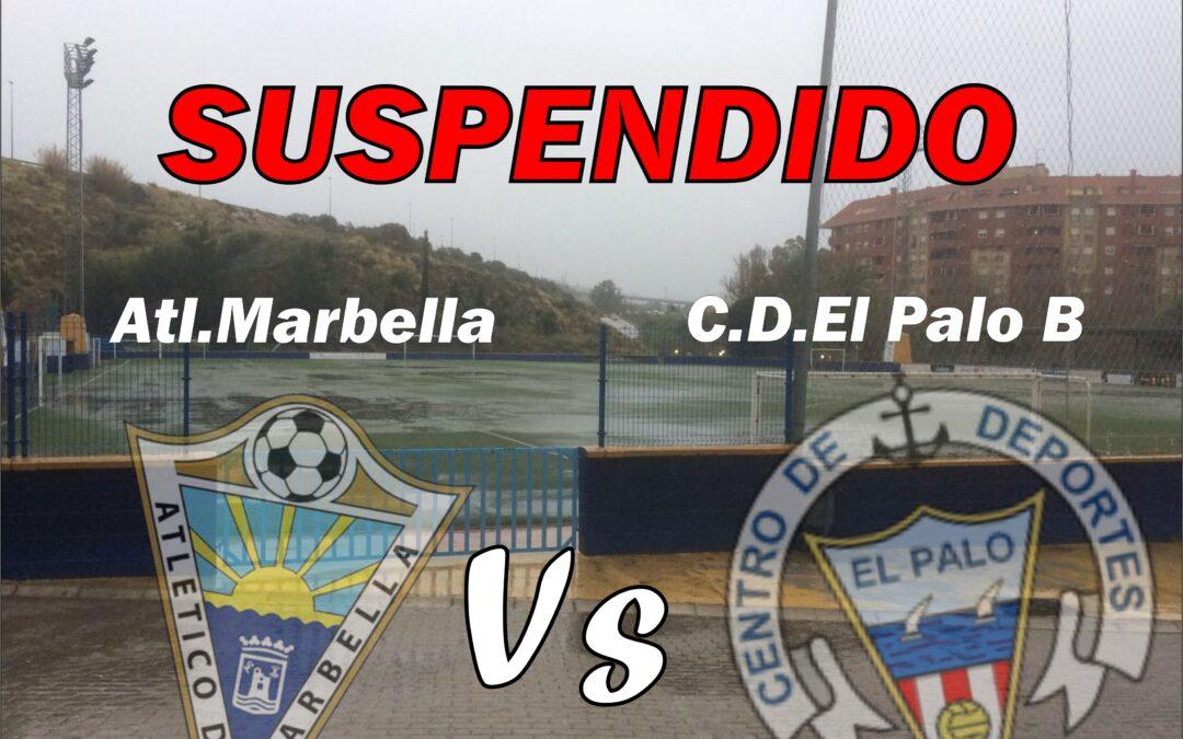 SUSPENDIDO: ATL.MARBELLA Vs C.D.EL PALO B