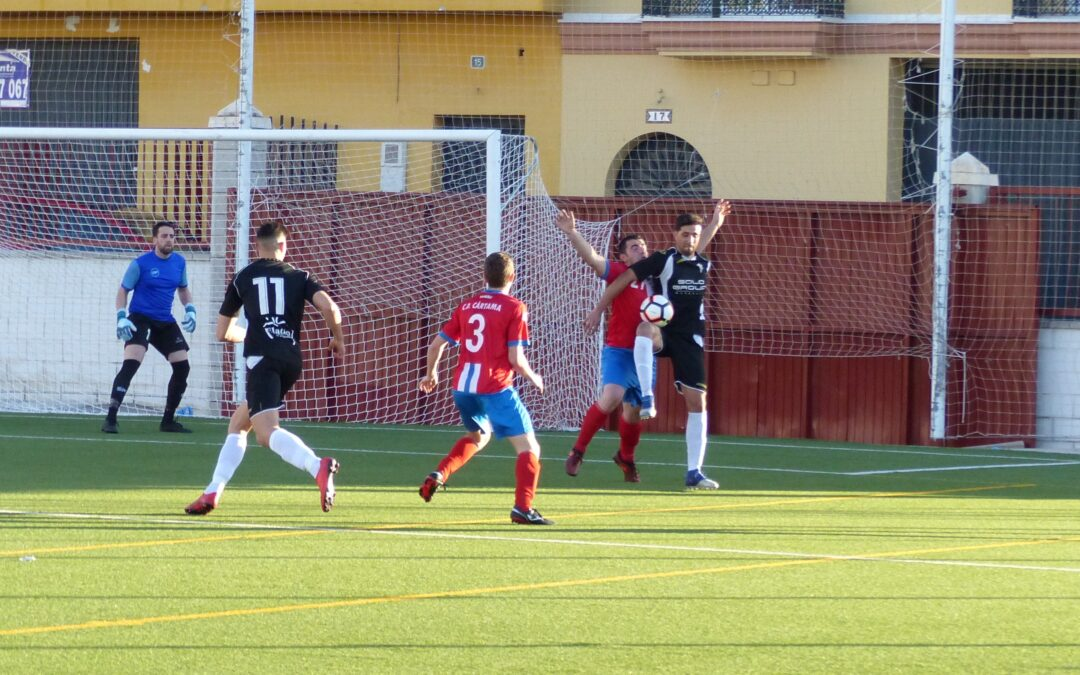 El Atlético Marbella suma un punto en en el descuento frente al C.D.Cártama (1-1)