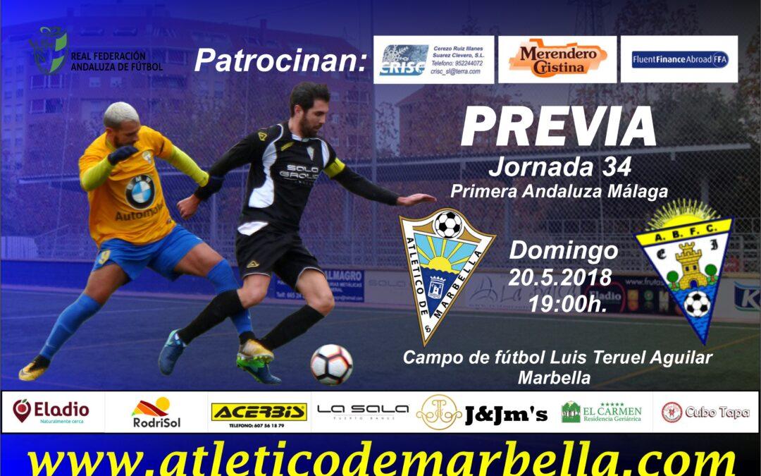 El Atlético Marbella buscará la salvación en la última jornada ante el Benamiel (Dom.19:00h)
