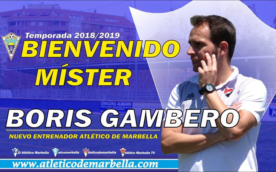 OFICIAL: Boris Gambero, nuevo entrenador del Atlético Marbella