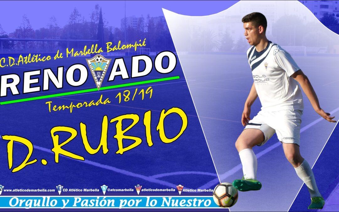Diego Rubio, renovado