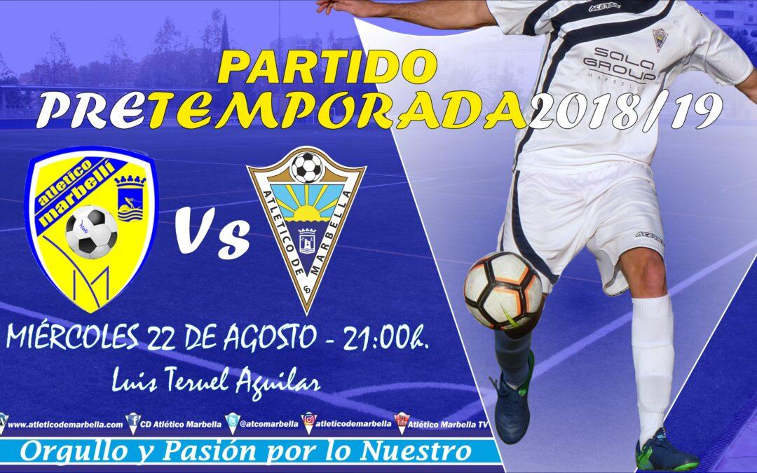 Cuarto partido de pretemporada ante el Marbellí (Miércoles 21:00h.)