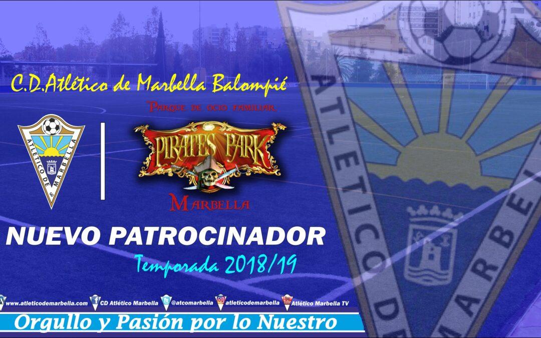 Pirates Park, nuevo patrocinador