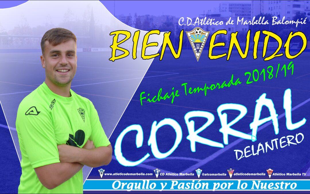 Fichaje: Corral, nuevo jugador del Atlético Marbella