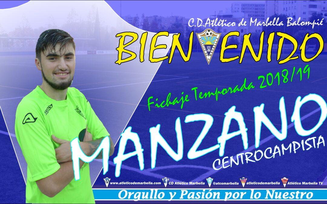 Fichaje: Manzano, nuevo jugador del Atlético Marbella
