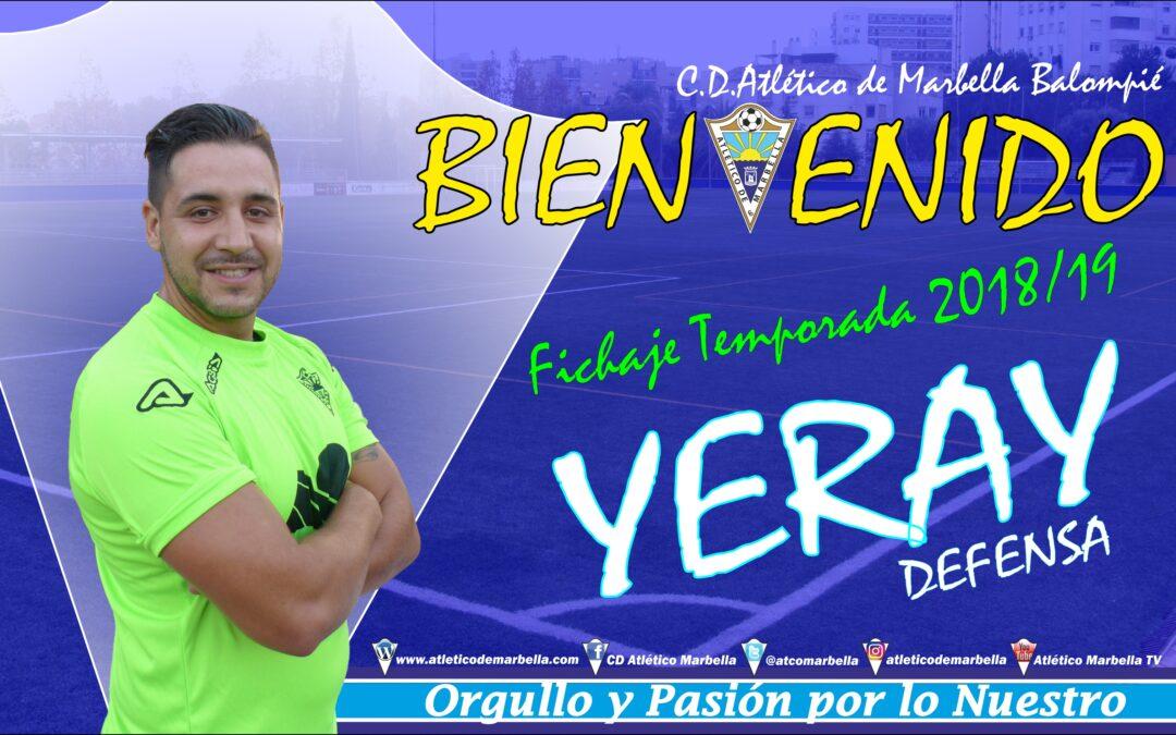 Fichaje: Yeray, nuevo jugador del Atlético Marbella