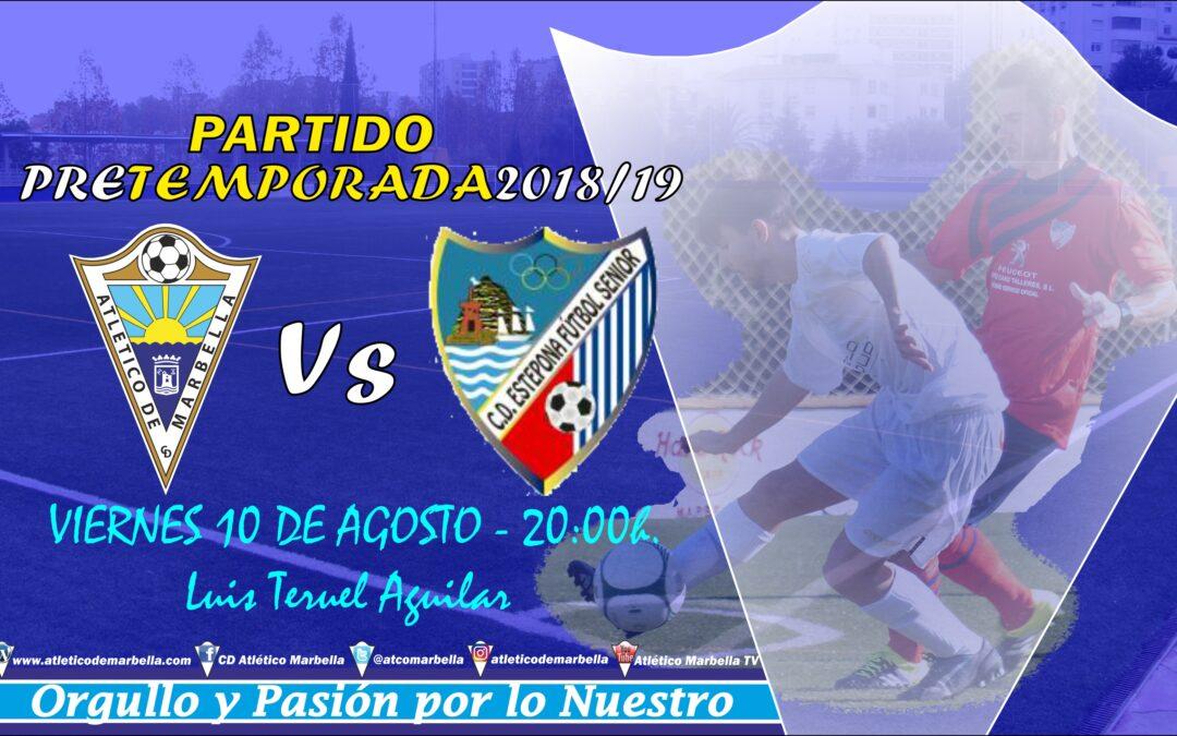 Segundo partido de pretemporada ante el C.D.Estepona (Vie.20:00h.)