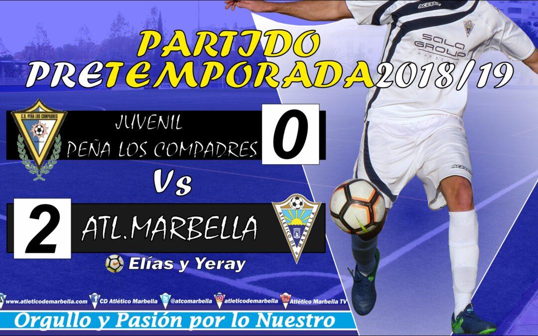 Victoria 2-0 en el primer partido de pretemporada