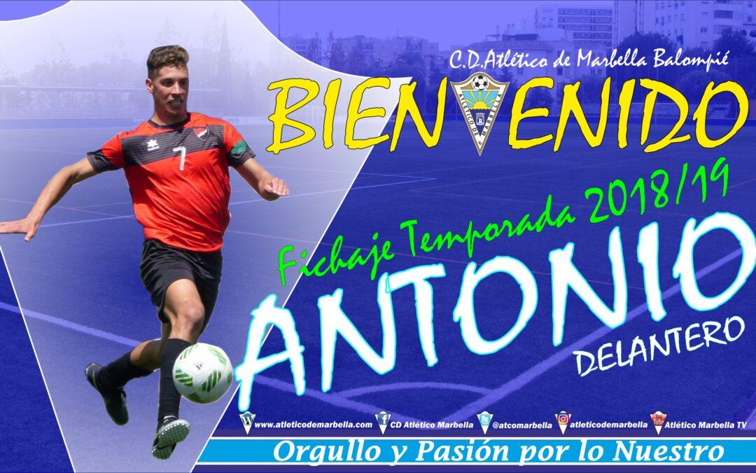 Fichaje: Antonio, nuevo jugador del Atletico Marbella