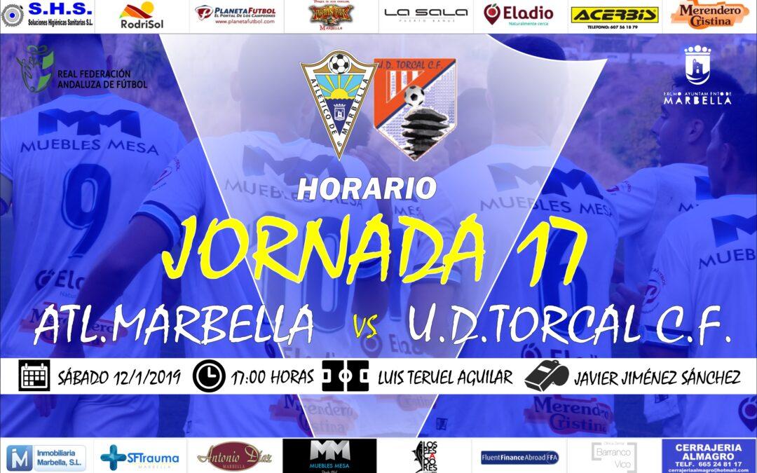 Horario Jornada 17: Atl.Marbella Vs U.D.Torcal C.F.