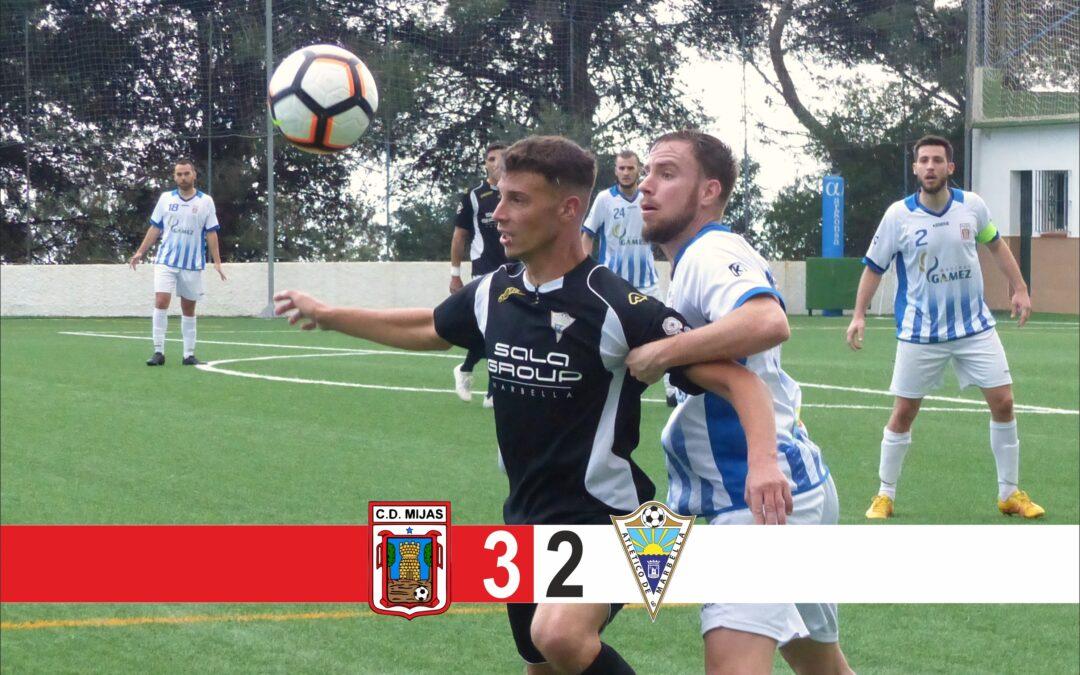 Derrota ante el Mijas (3-2)