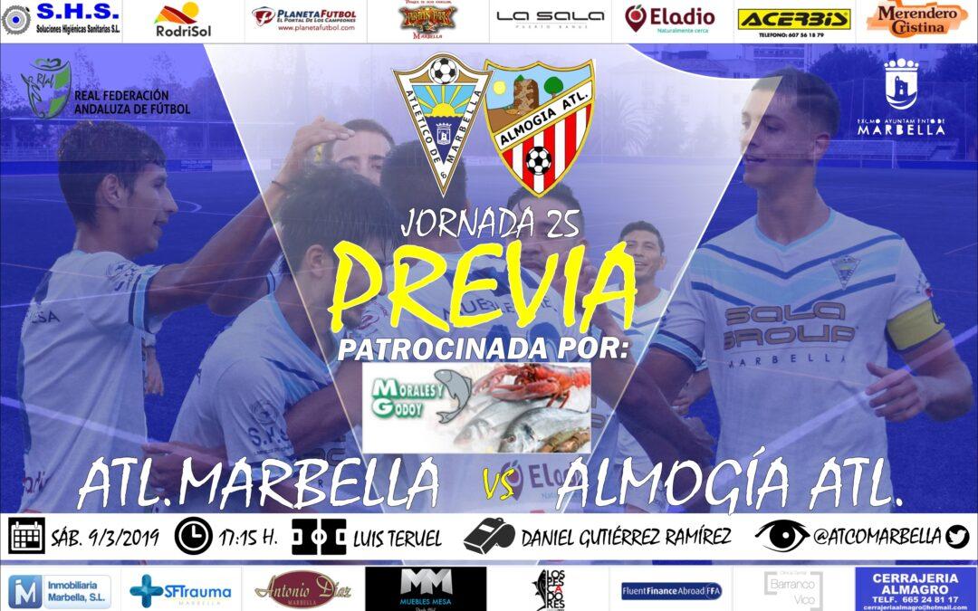Morales y Godoy nos trae la previa del Atl.Marbella-Almogía Atl. (Sáb.17:15h)