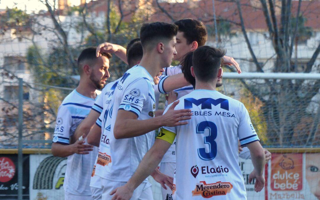 Goleada para volver a ganar en el Luis Teruel (5-2)