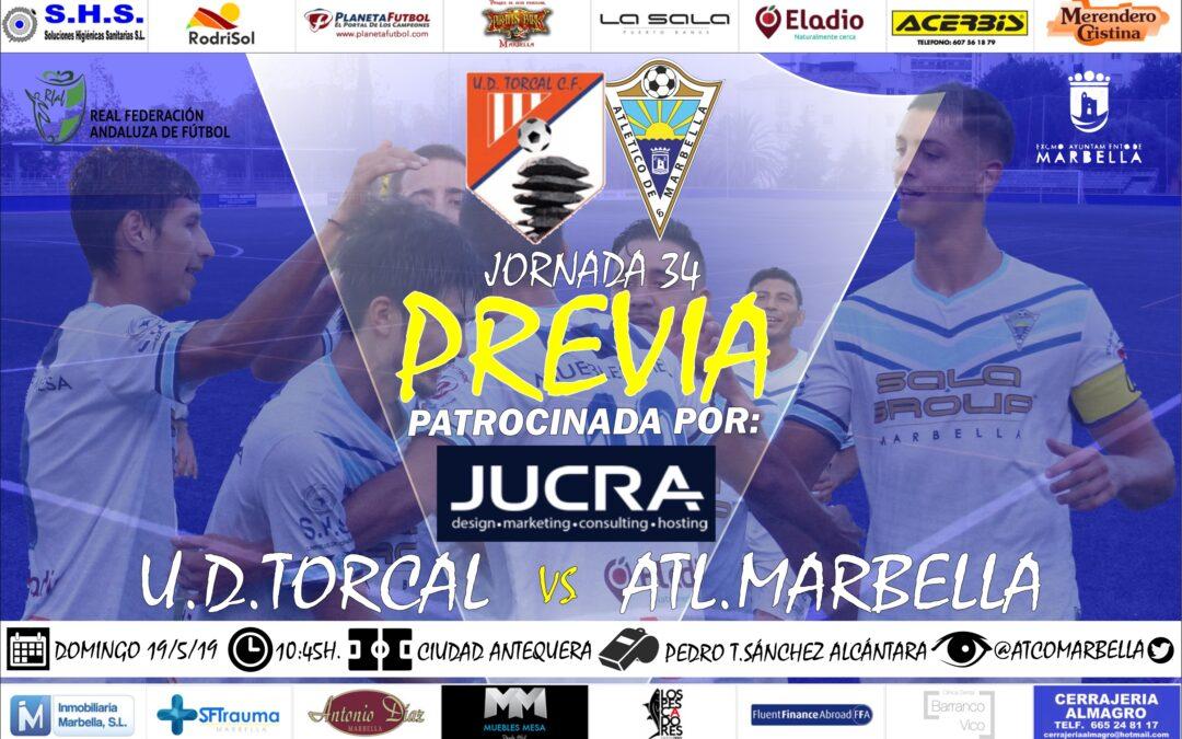 Jucra Digital nos trae la previa del U.D.Torcal-Atl.Marbella (Dom.10:45h.)