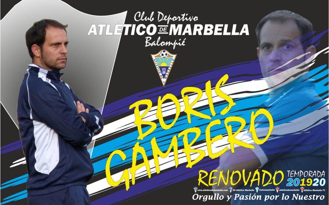 Comunicado Oficial: Boris Gambero renovado