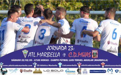 Frente al C.D.Mijas, el sábado a las 17:00 horas en el Luis Teruel