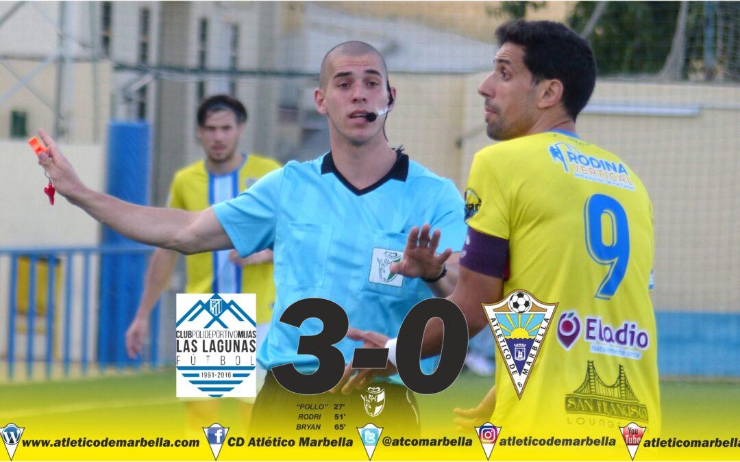 Derrota sin paliativos ante Las Lagunas (3-0)