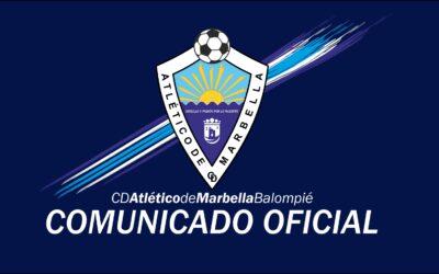 COMUNICADO OFICIAL: TEMPORADA 2020/2021