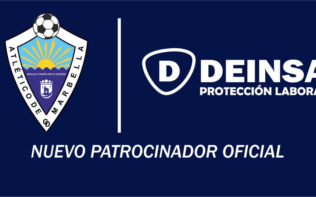 DEINSA, NUEVO PATROCINADOR OFICIAL