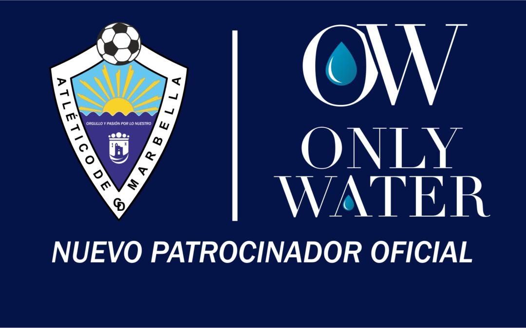 ONLY WATER, NUEVO PATROCINADOR OFICIAL