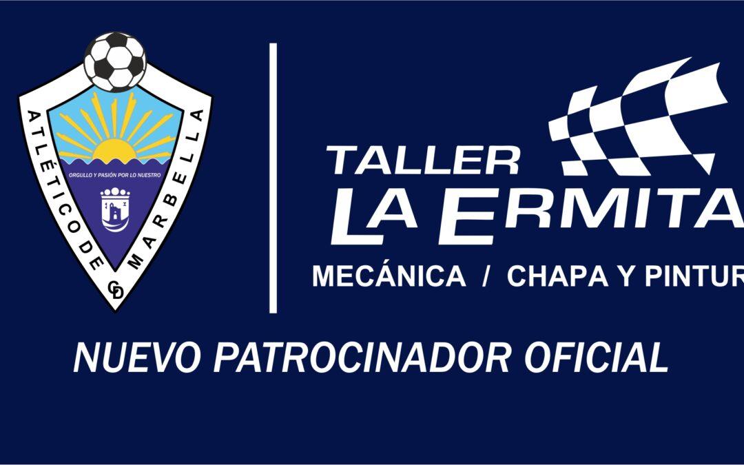 TALLER LA ERMITA, NUEVO PATROCINADOR