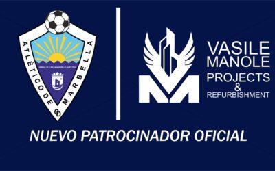 VASILE MANOLE, NUEVO PATROCINADOR