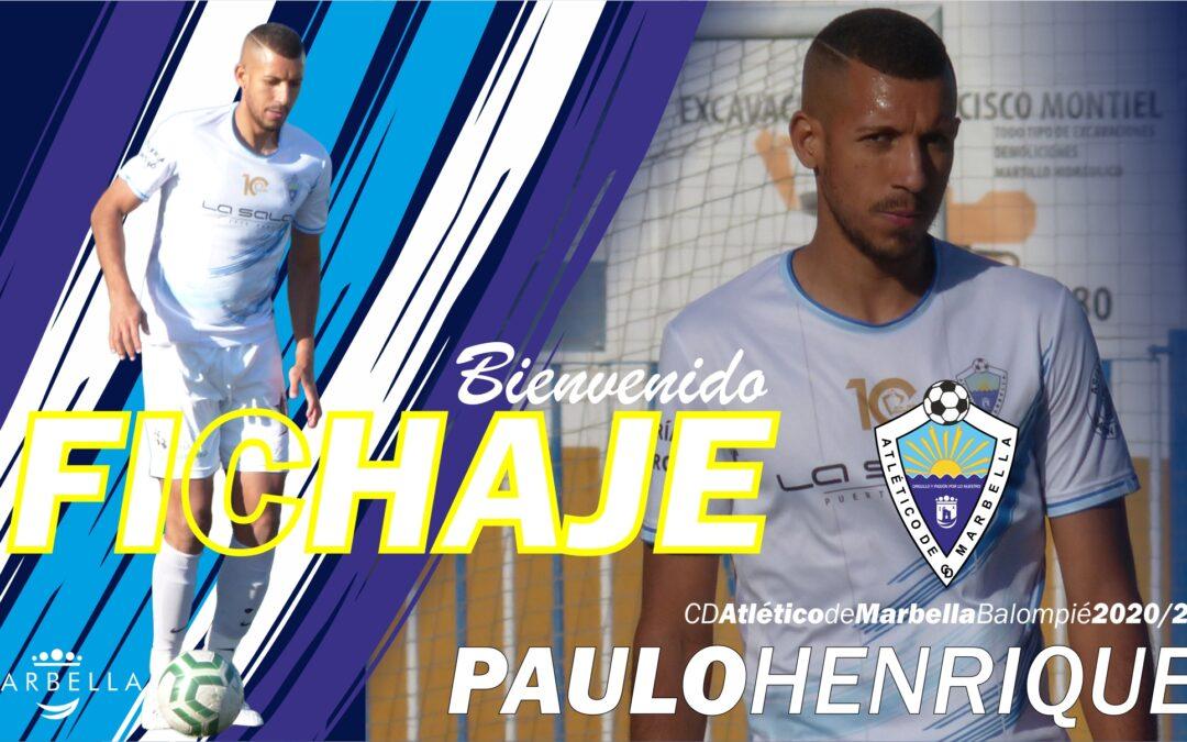 ¡BIENVENIDO PAULO!
