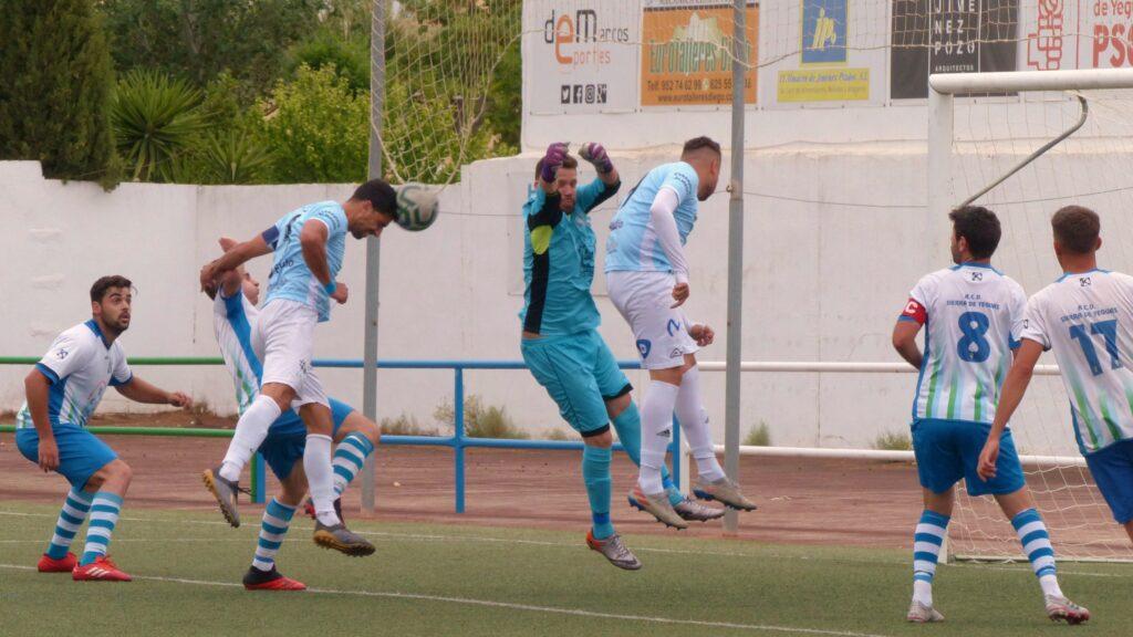 Mariano anotó de cabeza el 0-1 (min.21)