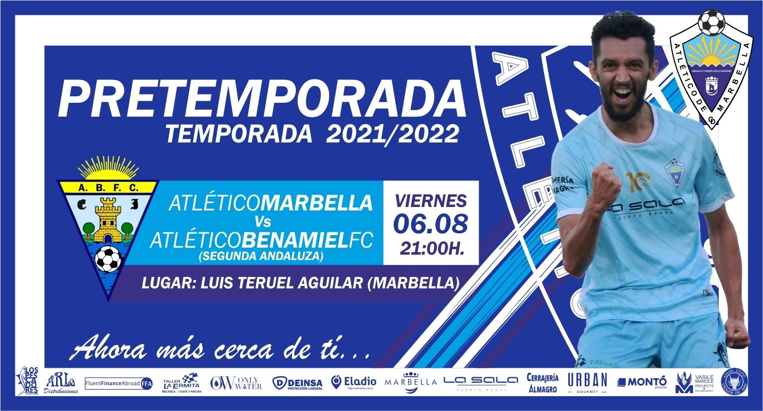 El Benamiel será el primer rival del Atlético Marbella en pretemporada.