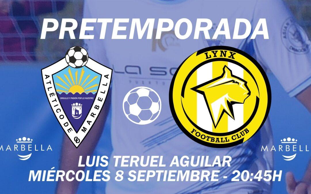 PENÚLTIMO AMISTOSO HOY ANTE EL LYNX FC