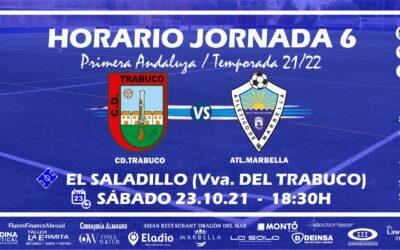 HORARIO JORNADA 6: CD.TRABUCO – ATL.MARBELLA